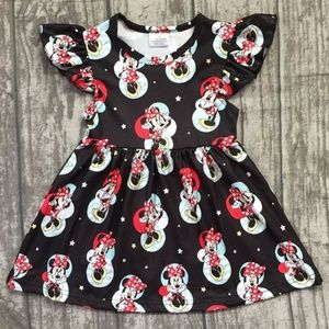 Other - Girls Minnie Mouse Flutter Sleeve Boutique Dress